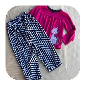 Carter's Pajama Set Girls 4T